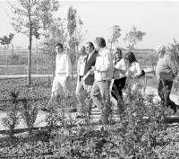 Don Benito inaugura un jardín botánico con más de 200 especies en una superficie de 9.300 metros