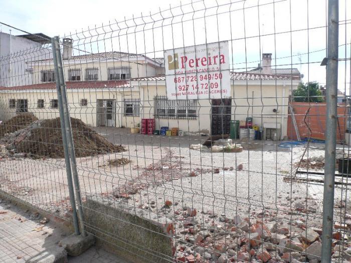 Comienzan las obras del futuro centro de día de Moraleja con una inversión de 216.109 euros