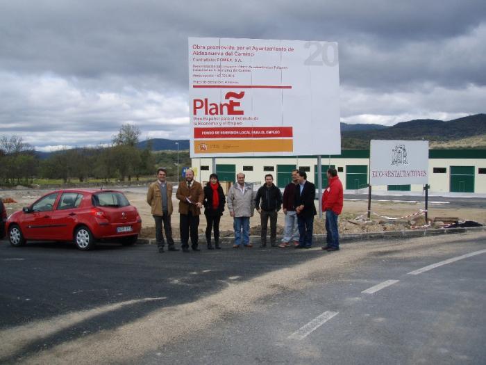 Aldeanueva del Camino estrena el polígono industrial con la puesta en marcha de cinco industrias