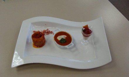 Juan Miguel Palacios gana el Concurso gastronómico de tomate del Centro Tecnológico Agroalimentario