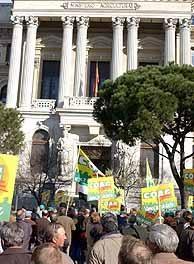 Los agricultores del norte de Cáceres están convocados a la gran manifestación agraria de este sábado en Madrid