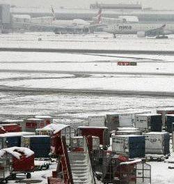 AENA pone en marcha en el aeropuerto de Badajoz el 'plan invierno' para evitar situaciones adversas