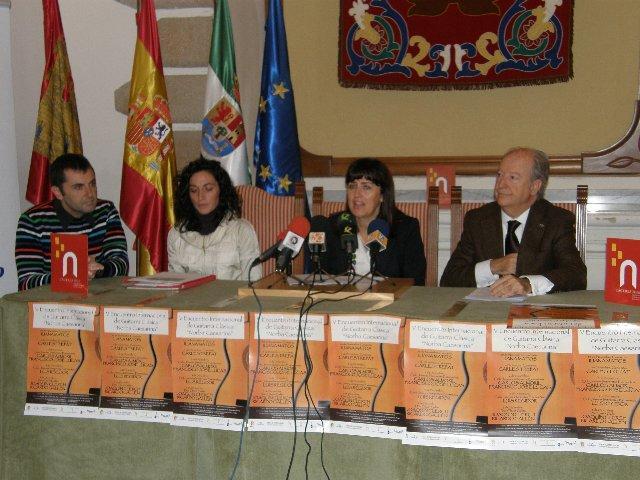 El Encuentro Internacional de Guitarra Clásica Norba Caesarina incluye conciertos de jóvenes intérpretes