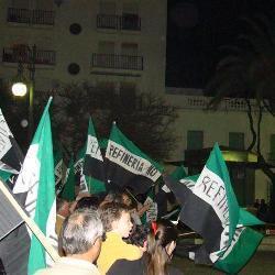 Los 'Verdes' considera inaceptable el intento de UGT de presionar al Gobierno con la refinería