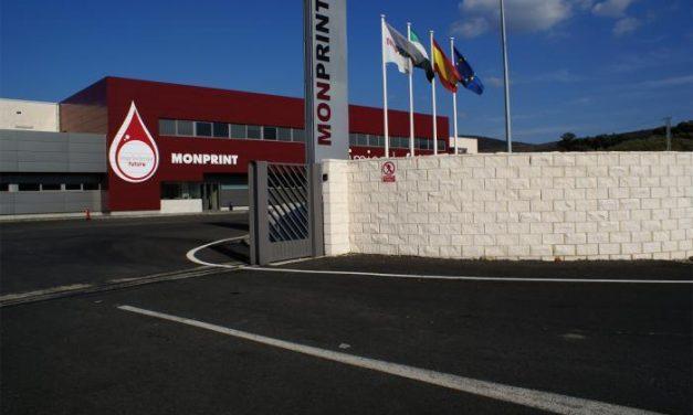 El 80% de los trabajadores de Monprint se encierra en la planta placentina para exigir el cobro de las nóminas