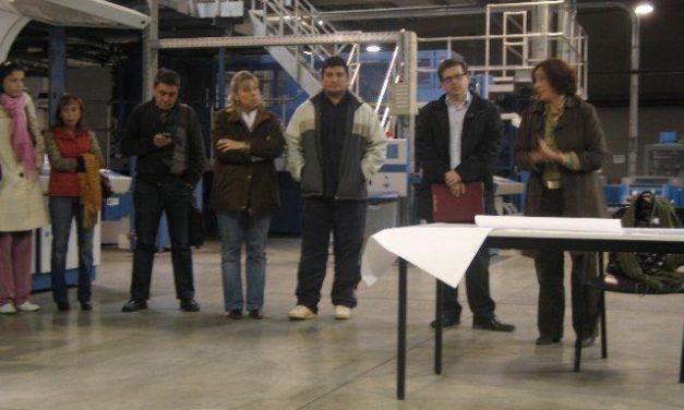 Los trabajadores de Monprint confían en la firma de un ERE ante el cierre inminente de la empresa