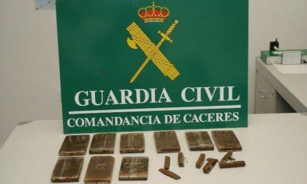 Desarticulado un entramado dedicado al tráfico de drogas, robo, hurto y estafas en la provincia de Badajoz