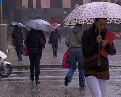 Extremadura podría registrar este lunes lluvias de hasta 40 litros por mentro cuadrado en doce horas