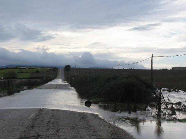 Las intensas lluvias ocasionan inundaciones en el norte de Cáceres y obligan a cortar varias carreteras