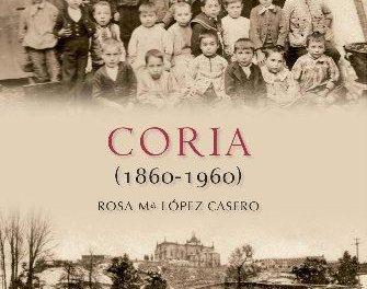 """Rosa María López presenta el libro """"Coria (1860-1960)"""" que refleja la vida de la ciudad en 240 imágenes"""