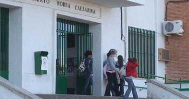 Un estudiante de 16 años en tratamiento psiquiátrico ataca a su profesor con un cuchillo en Cáceres