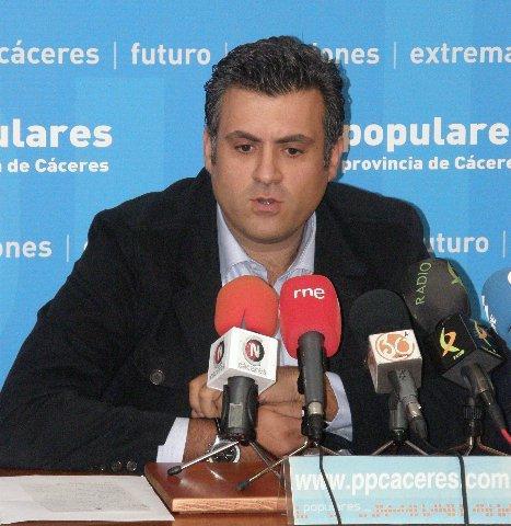 El PP de Cáceres instará en el Senado a que el gobierno rehabilite la escuela-hogar de Jaraíz de la Vera