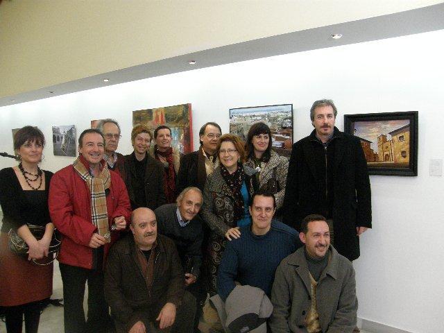 Un total de 16 artistas cacereños retratan la ciudad y la candidatura a Capital Europea de la Cultura 2016