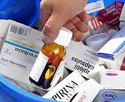 Los extremeños reciclan unos 25.000 kilos de fármacos en los seis primeros meses de este año 2007