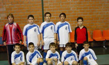 El equipo alevín de fútbol sala de Cadalso inicia en Torrecilla de los Ángeles su andadura en los Judex