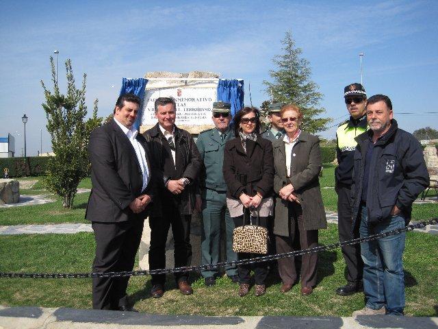 La localidad de Almaraz rinde homenaje a las víctimas del terrorismo coincidiendo con el sexto aniversario del 11-M