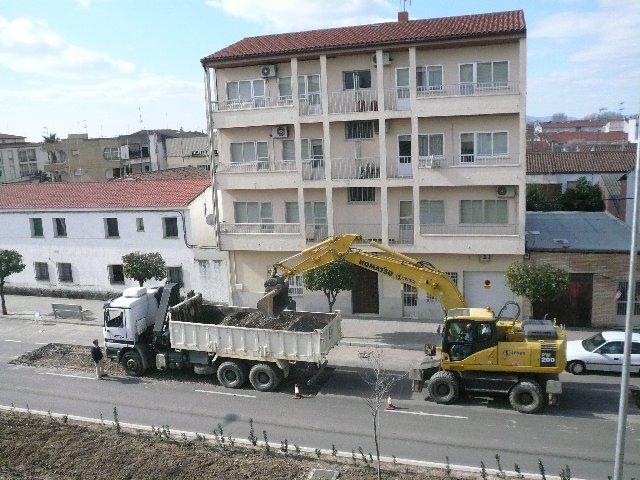 Fomento ejecuta obras de mantenimiento y conservación del firme en la Ex-108 en Moraleja