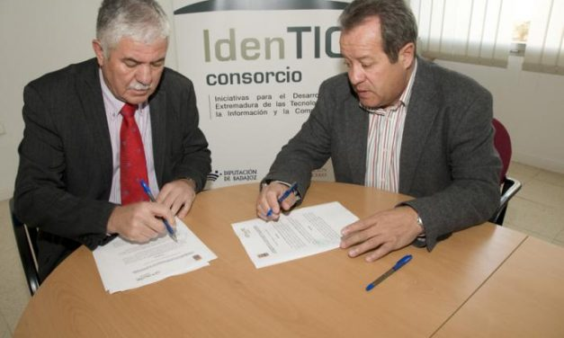 El Consorcio IdenTIC y el Ayuntamiento de Casar de Cáceres firman un convenio de colaboración