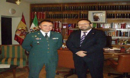 Gabriel Domínguez toma el mando de la Comandancia de Cáceres como nuevo Teniente Coronel Jefe