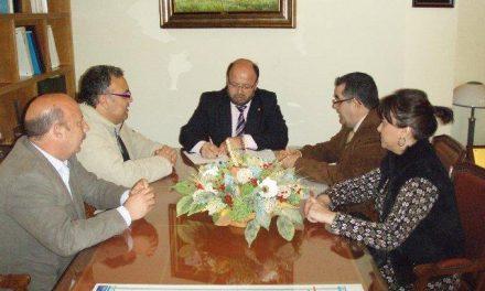 El Subdelegado del Gobierno en Cáceres recibe a ANEX, la Asociación de Alcohólicos Nominativos de Extremadura