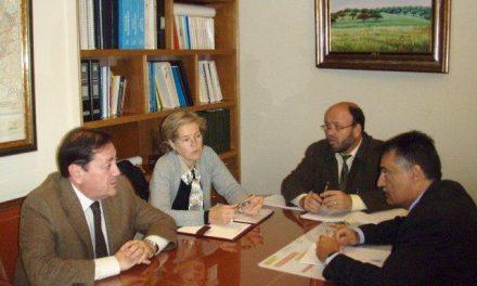 Fernando Solís de reúne con los farmacéuticos para coordinar las medidas de seguridad en las farmacias