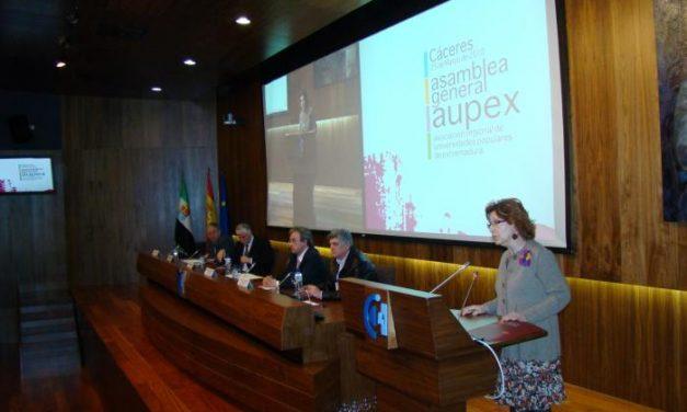 Aupex celebra su asamblea general con la incorporación de Valencia de Alcántara, Hernán Pérez y Tamurejo