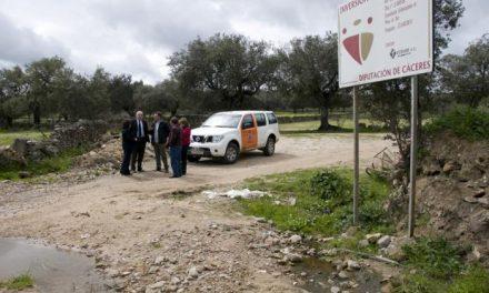Mesas de Ibor ejecuta obras de abastecimiento y un parque saludable con cargo a los fondos de la Diputación