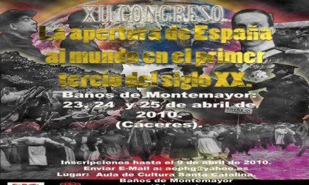 Baños acogerá un congreso nacional de la Asociación Española de Profesores de Historia y Geografía