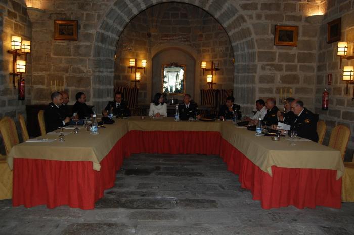 Los mandos policiales, reunidos en Plasencia, concluyen que la región es una comunidad segura