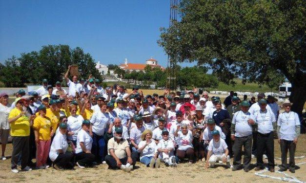 Ceclavín reúne a 160 petanquistas en el recinto de la Virgen del Encinar durante el torneo mancomunado