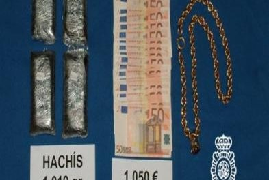 La Policía Nacional detiene en Badajoz a cuatro vecinos portugueses por un delito contra la Salud Pública