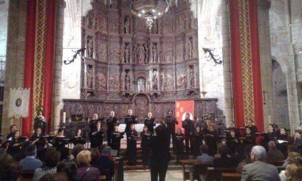 Los conciertos corales se celebran con rotundo éxito en la concatedral de Santa María en Cáceres