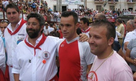 El recortador cacereño Emilio Torres Motoro se recupera en Pamplona tras sufrir una grave cogida