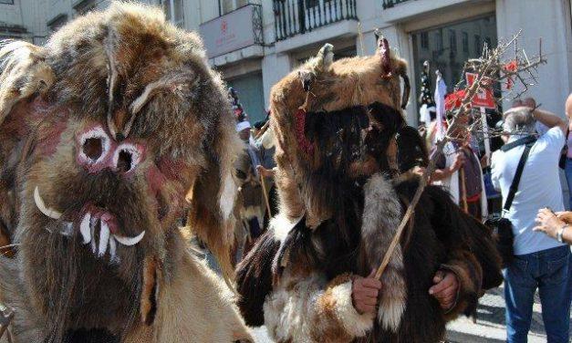 Las Carantoñas de Acehúche ponen el broche de oro a la participación del Patronato de Turismo en Lisboa