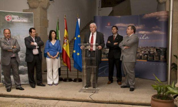 La provincia de Ávila se promociona estos días en el Patronato de Turismo de la Diputación de Cáceres