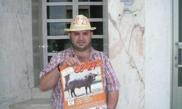 """La peña """"El 27"""" elige al toro Camisero de la ganadería Trifino Vegas de procedencia Santa Coloma"""
