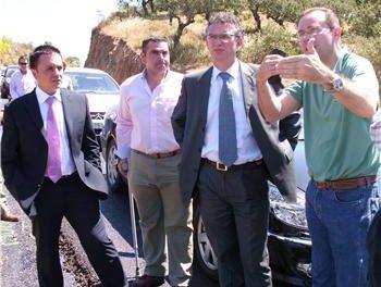 El acondicionamiento de la carretera Ex-320, de La Lapa a Salvatierra, concluirá este año, antes de lo previsto