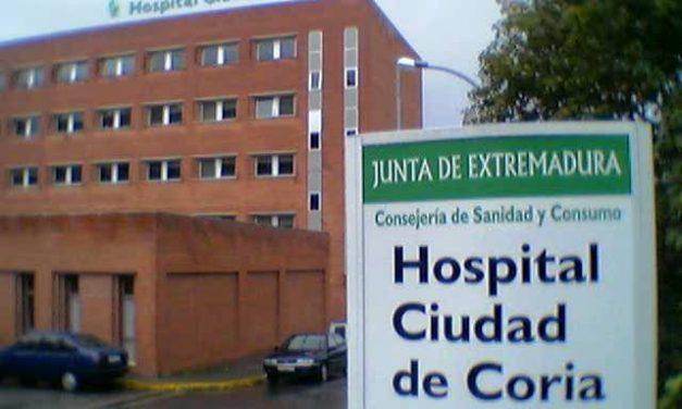 """El Área de Salud de Coria reconoce limitaciones en algunas unidades por ser un hospital """"de paso"""""""