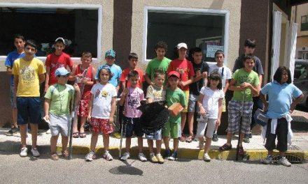 Más de una veintena de jóvenes participan en el concurso de pesca alevín-infantil San Buenaventura