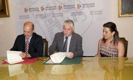 La Diputación y UEx firman un convenio de colaboración sobre proyectos de investigación en turismo