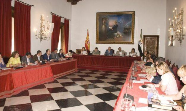La Diputación de Cáceres aprueba inversiones de más de 10 millones de euros para diferentes infraestructuras