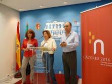 """La alcaldesa Carmen Heras presenta el XXIII Premio de Poesía """"Cáceres Patrimonio de la Humanidad"""