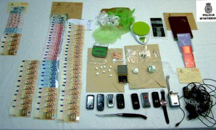 La Policía Nacional desarticula un punto negro de venta de droga del centro de Almendralejo
