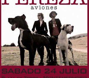 Pereza dará su único concierto en Extremadura, en la gira Aviones, en Montehermoso