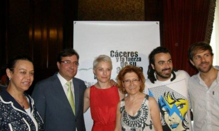 """El Consorcio presentó el pasado viernes """"Cáceres y la fuerza de su abrazo"""" en el Ministerio de Cultura"""
