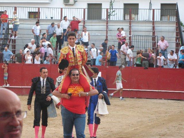 Los novillos de Cebada Gago superaron a los novilleros en la primera de abono de la feria de Moraleja