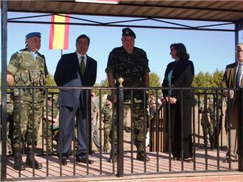 La Brigada Extremadura XI se despide de la Base General Menacho para viajar al Líbano el próximo día 15