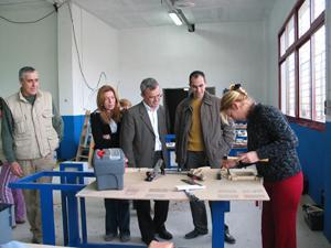 El taller de empleo de Sierra de Gata y El Alto Águeda se inaugura en Valverde del Fresno con 30 alumnos