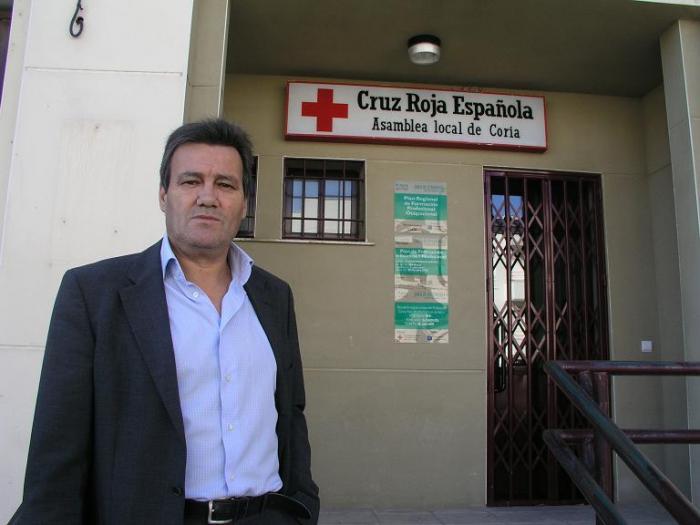 Cruz Roja de Coria fomentará el voluntariado y nombra a Antonio Pérez nuevo presidente