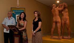 """El Museo de Bellas Artes restaura el conjunto escultórico """"El baño"""" para su exhibición pública"""
